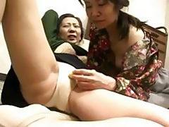 Freaks Of Nature 119 Japanese Grannys Panties Rubbing 1