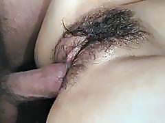 Jizz on pussy for curvy assÐ'Â Rei after serious hardcore