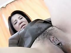 Yoko Kido  Japanese Mom Bouncing Like A Cowgirl