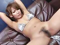 Amazing bondage with horny Japan modelÐ'Â Akiho Nishimura