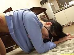 Jav Teen Idol Ambushed At Home Fucked On Kitchen Floor Big Chubby Butt
