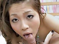 Jamming a horny Japanese slut