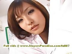 Japanese models are cock teasing nurses