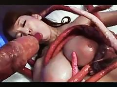 Drowning in the Tentacles Hitomi Tanaka (ATID192) [Scene 4]